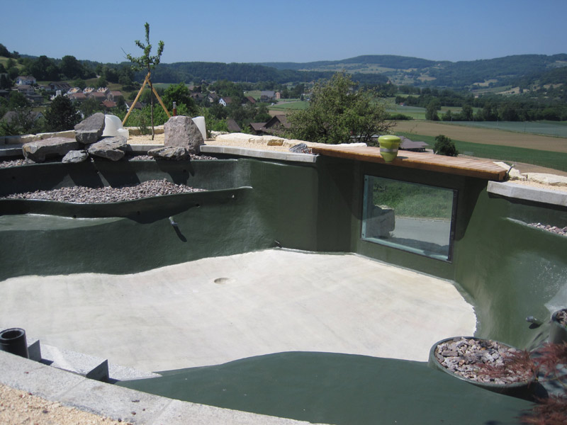 Teichschale for Fischhaltung im teich