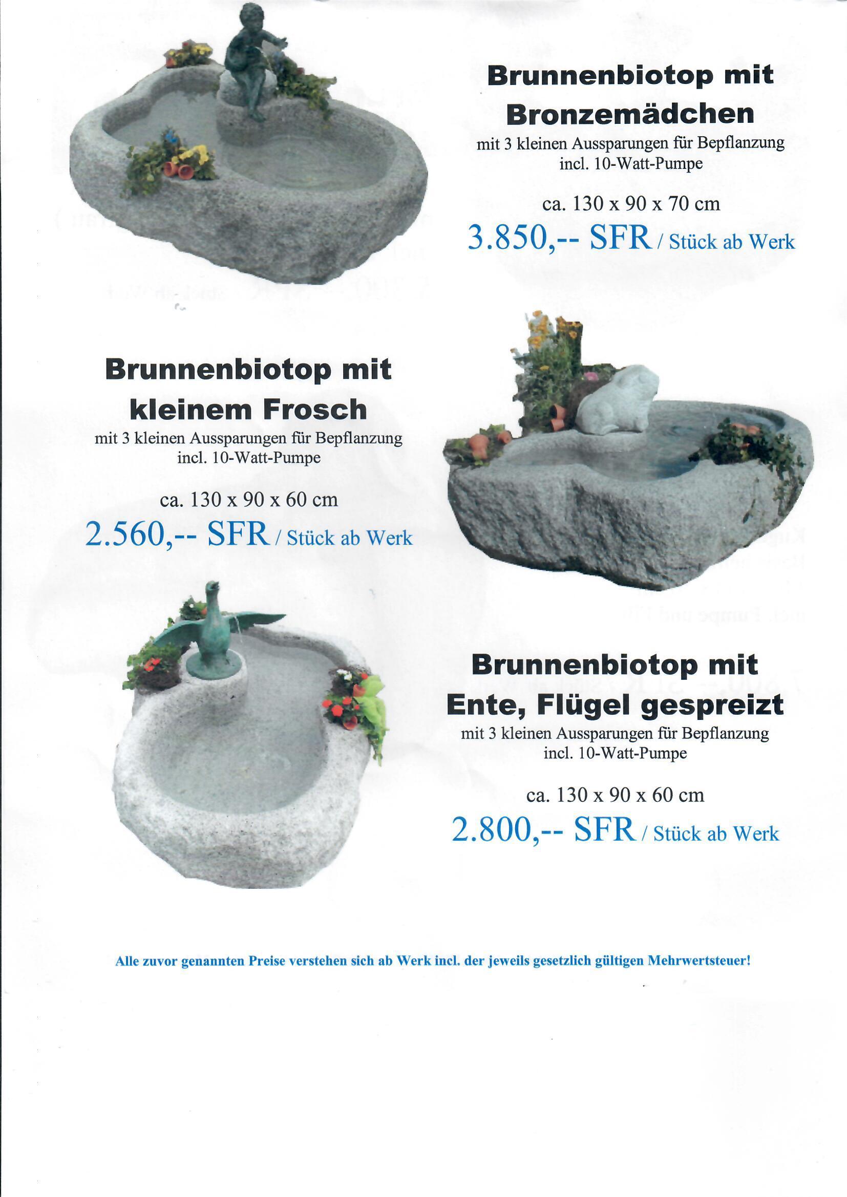 Granitbrunnen 10