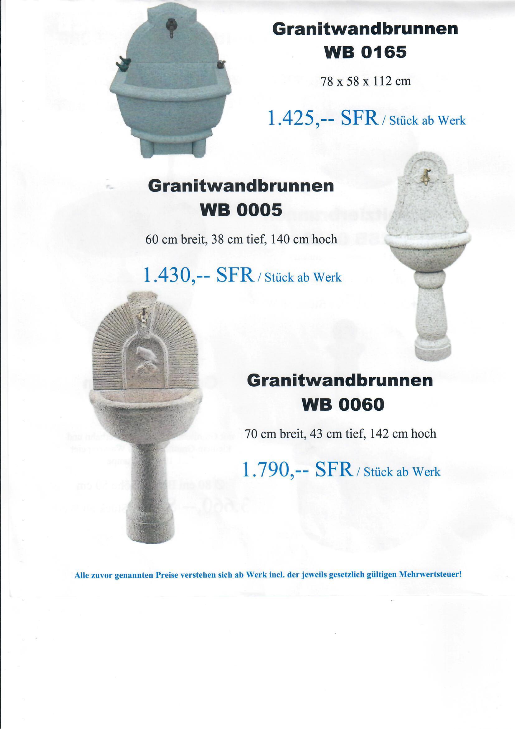 Granitbrunnen 12