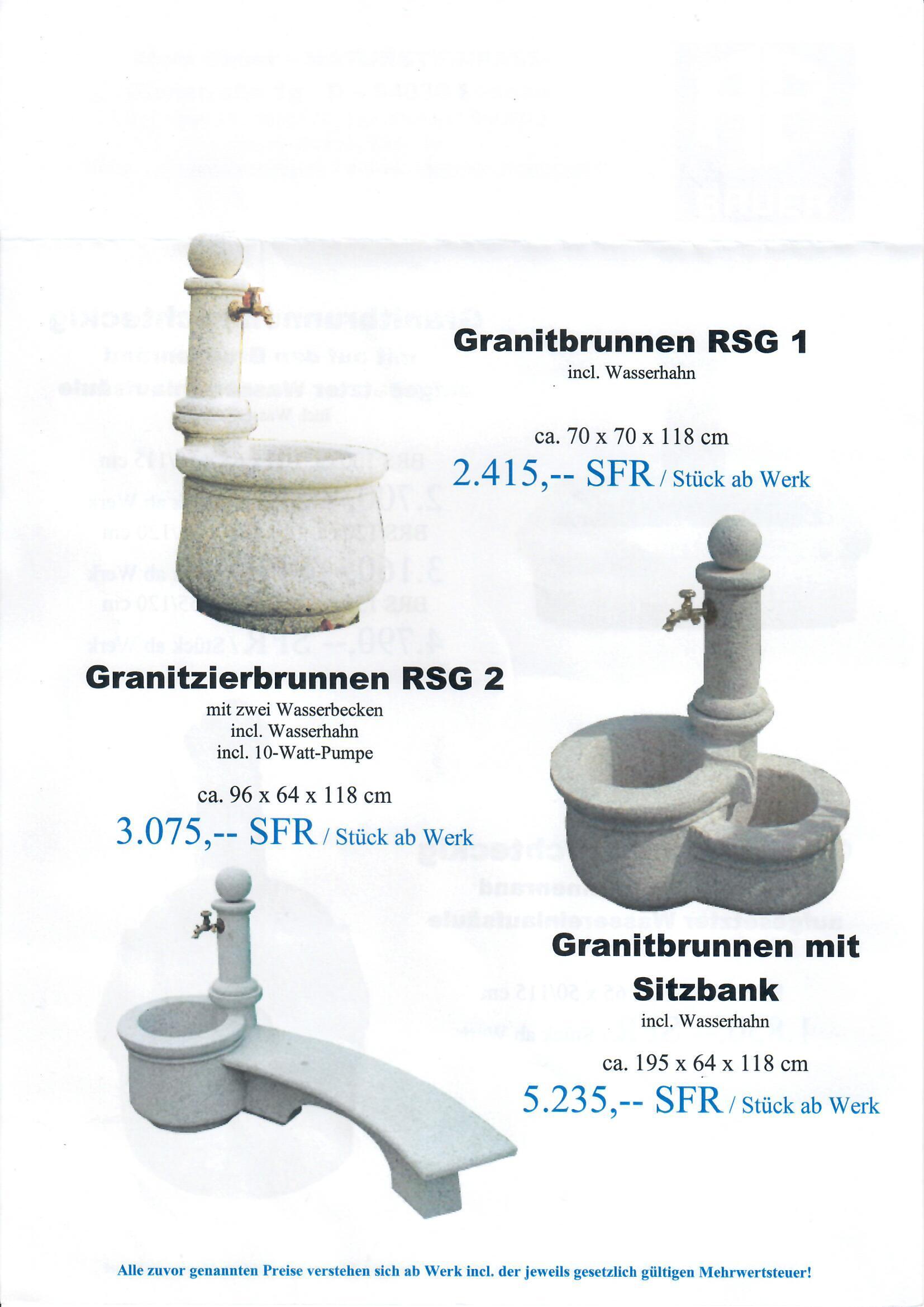 Granitbrunnen 15