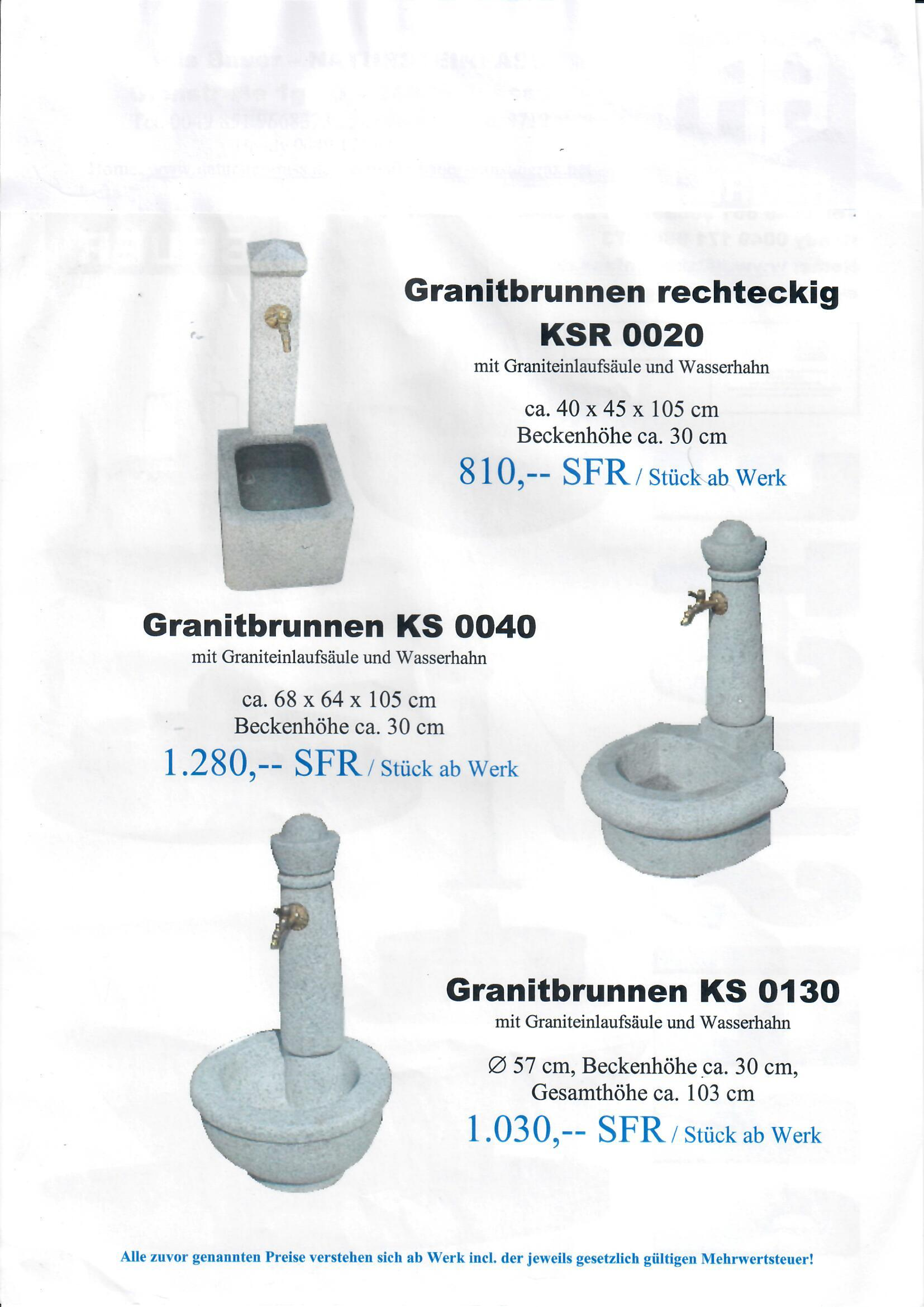 Granitbrunnen 16