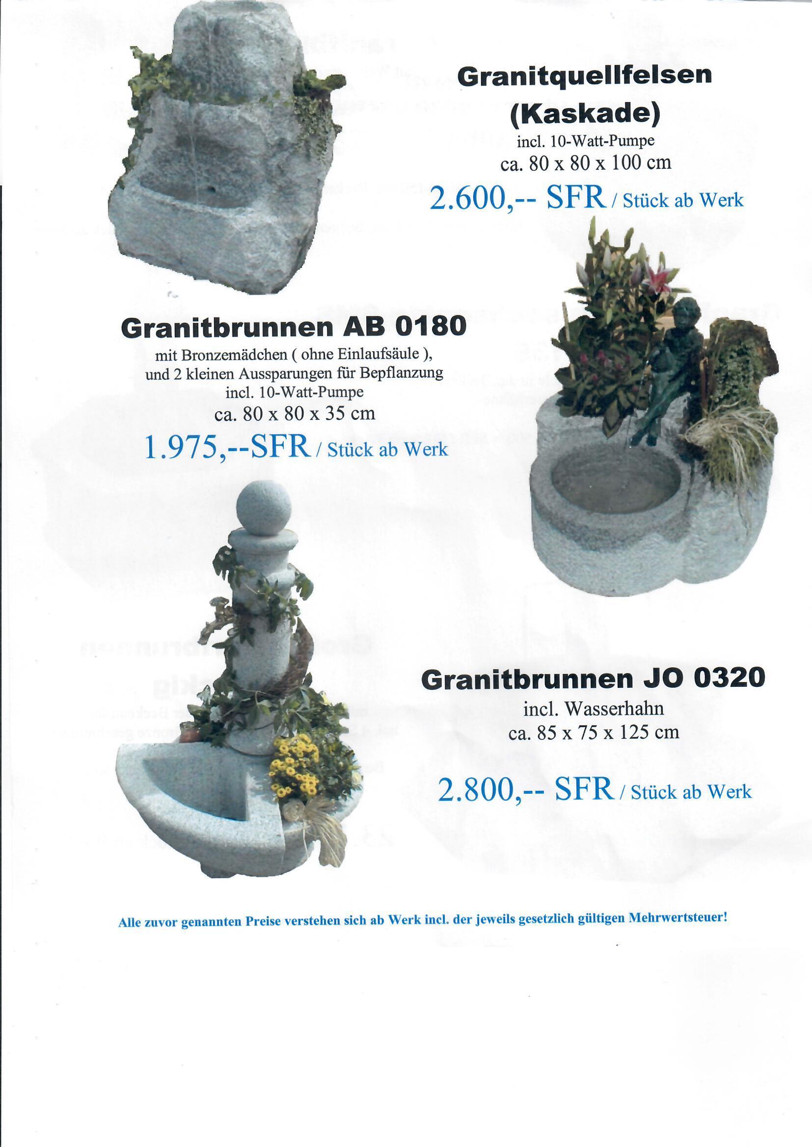 Granitbrunnen 6
