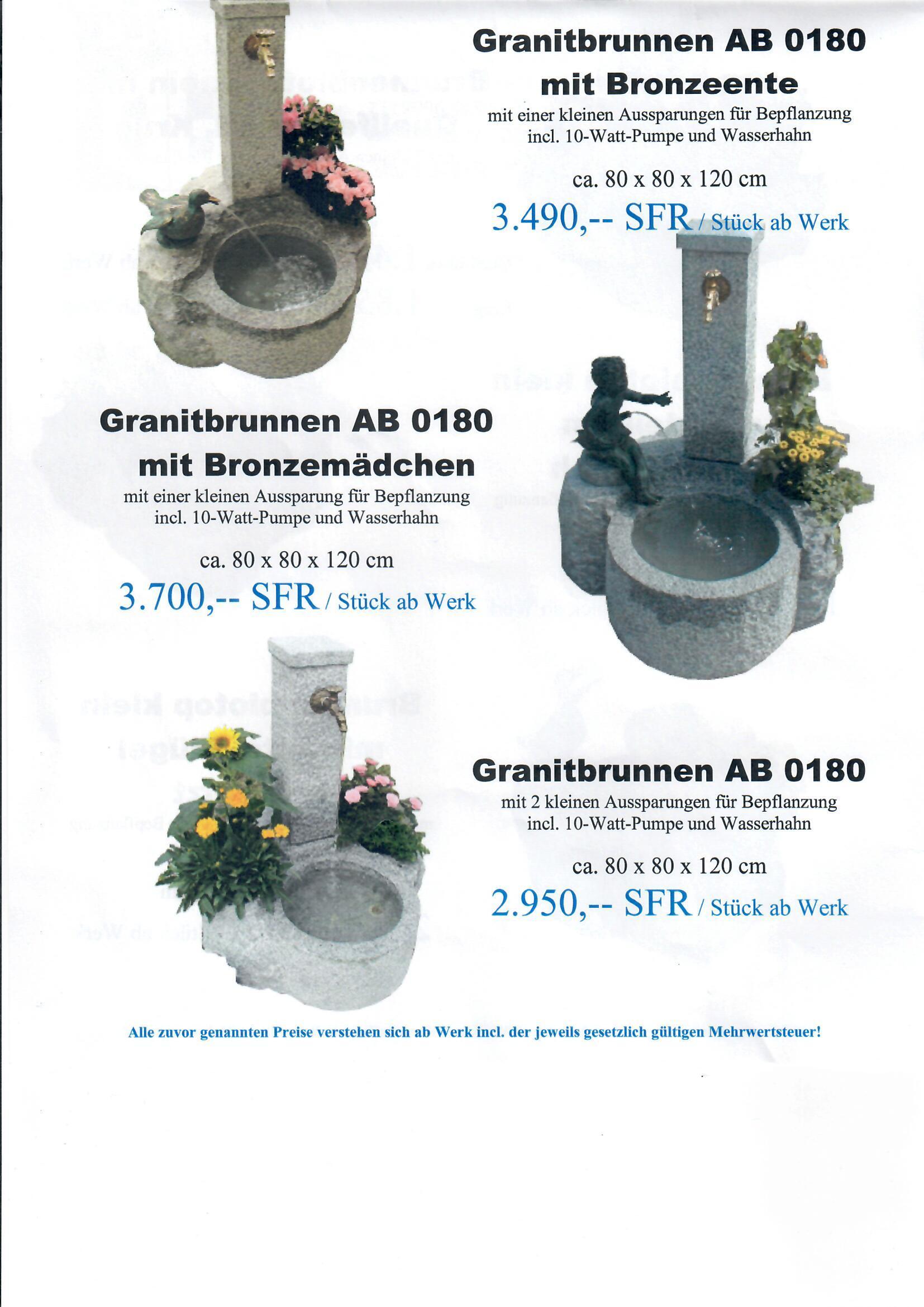 Granitbrunnen 7