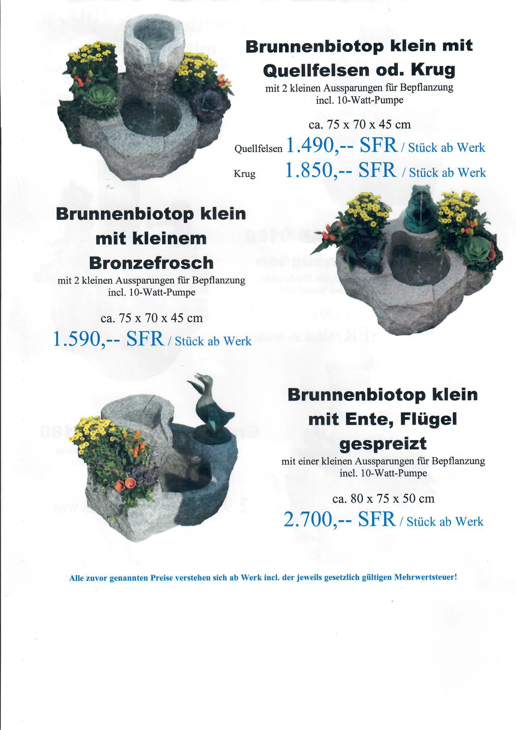 Granitbrunnen 8