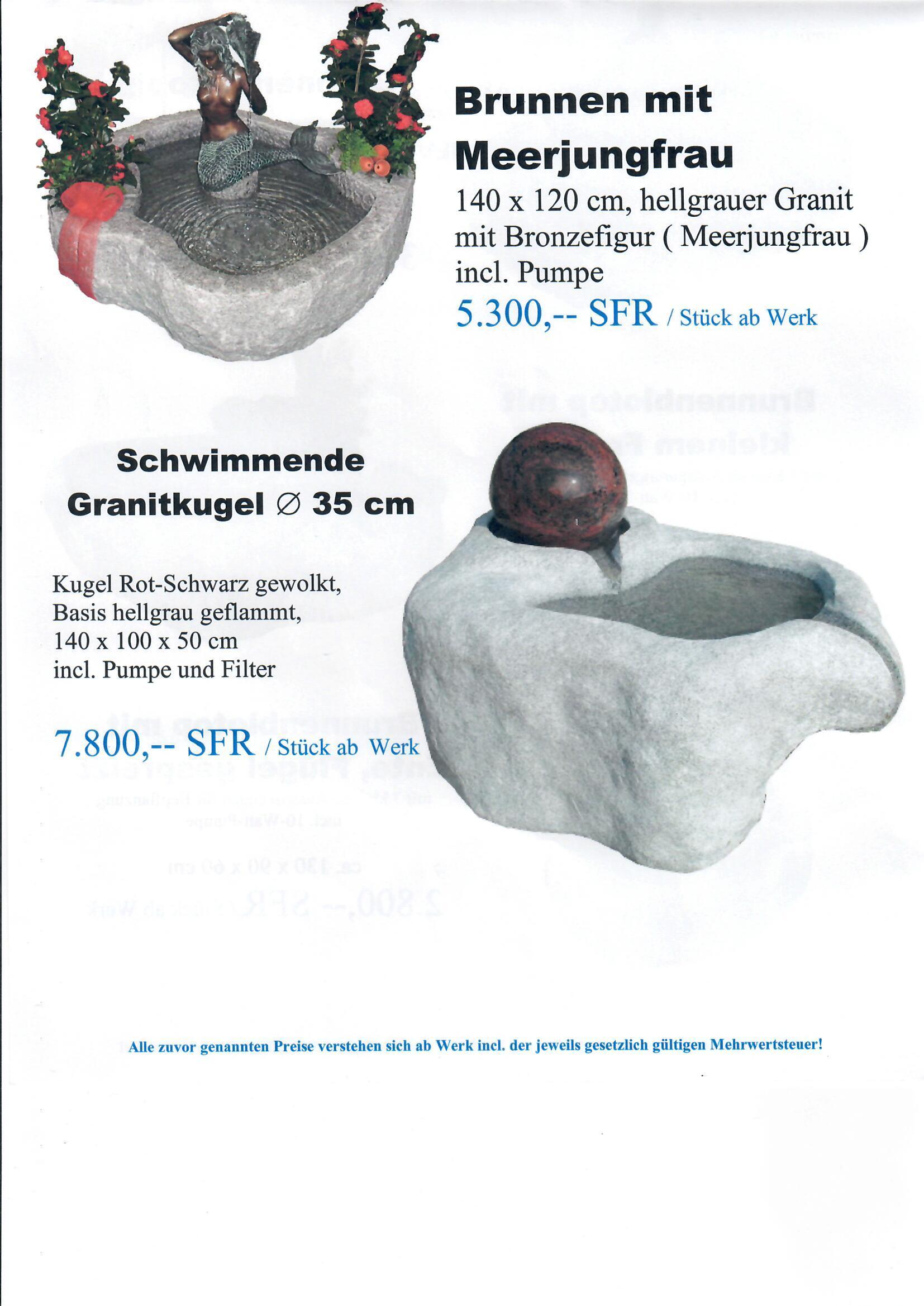 Granitbrunnen 9